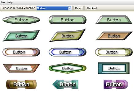 TechnoRiver Graphics - Web Button Generator