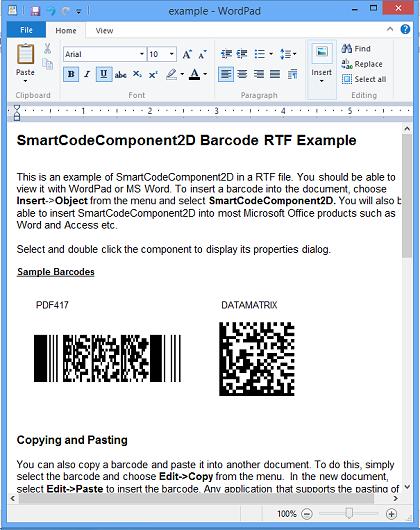 2D Barcode components, 2D Excel Barcode, 2D Barcode software