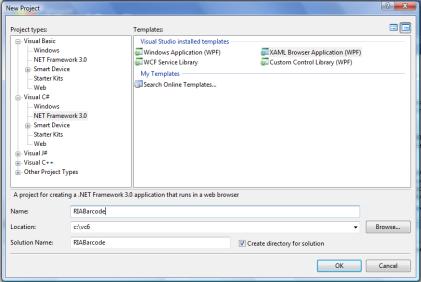 Using SmartCodeDeveloper in a XBAP RIA (Rich Internet