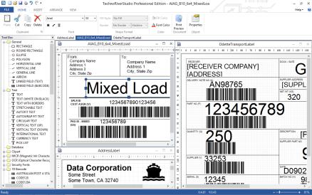 标签条形码设计制作 TechnoRiverStudio Professional v8.0.1710 注册码